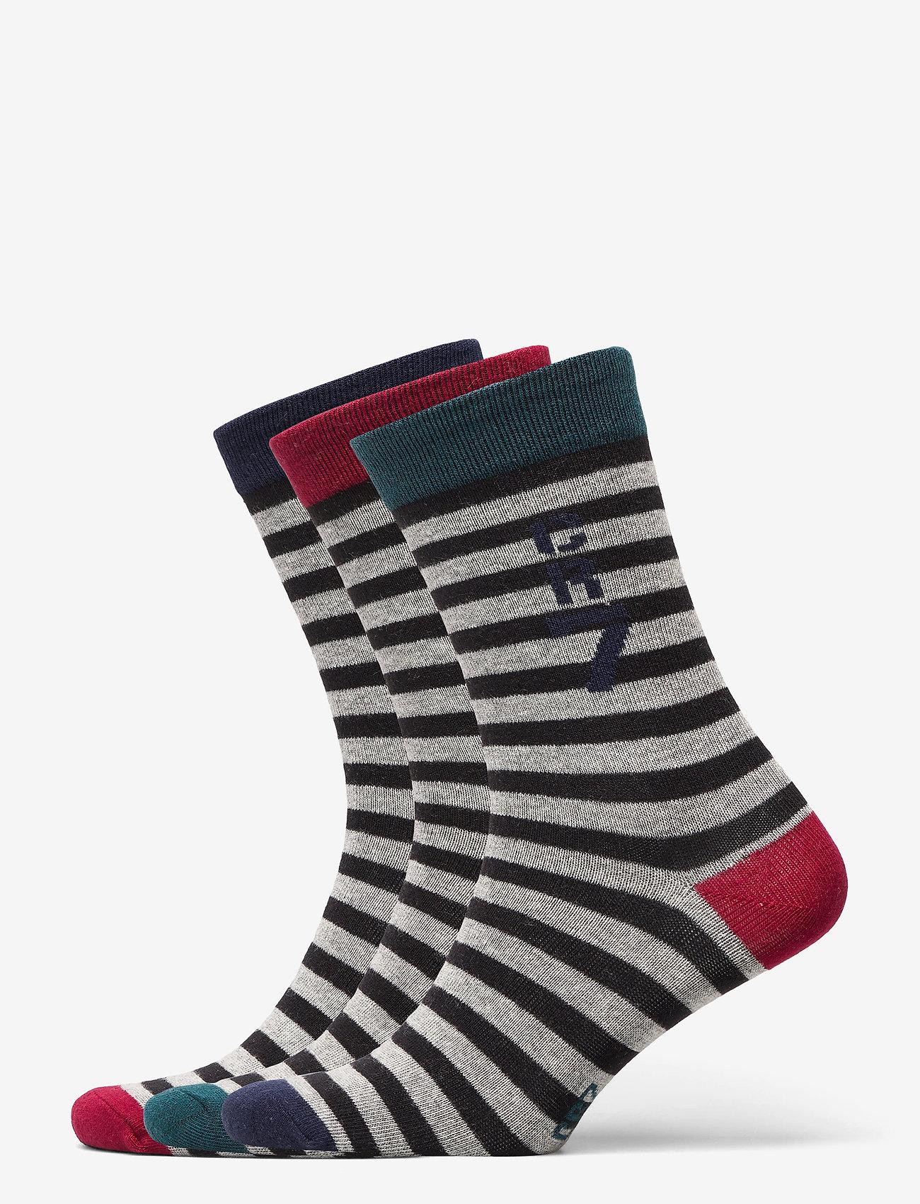 CR7 - CR7 Kids socks 3-pack. - skarpetki - multicolou - 0