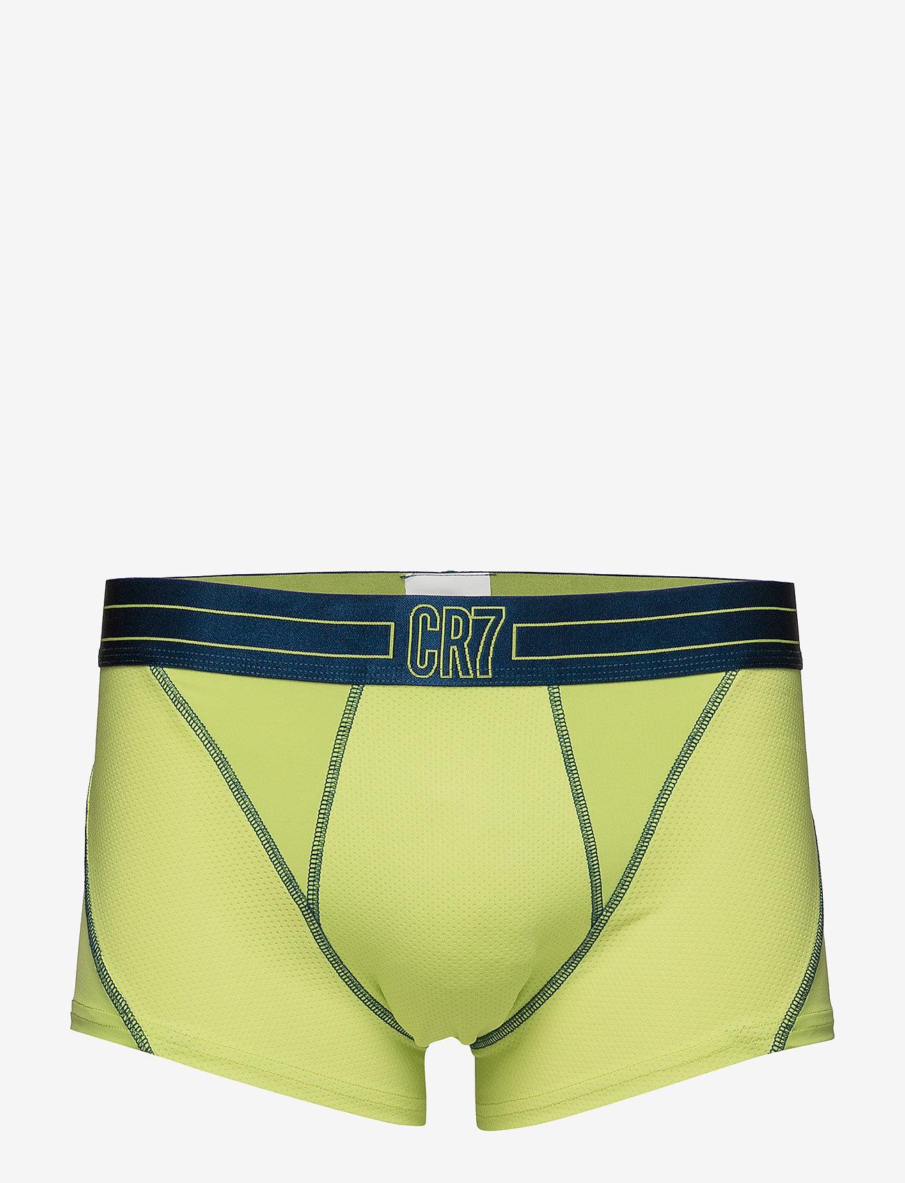 CR7 - CR7 Fashion, Trunk  Mesh. (x) - sous-vêtements - green