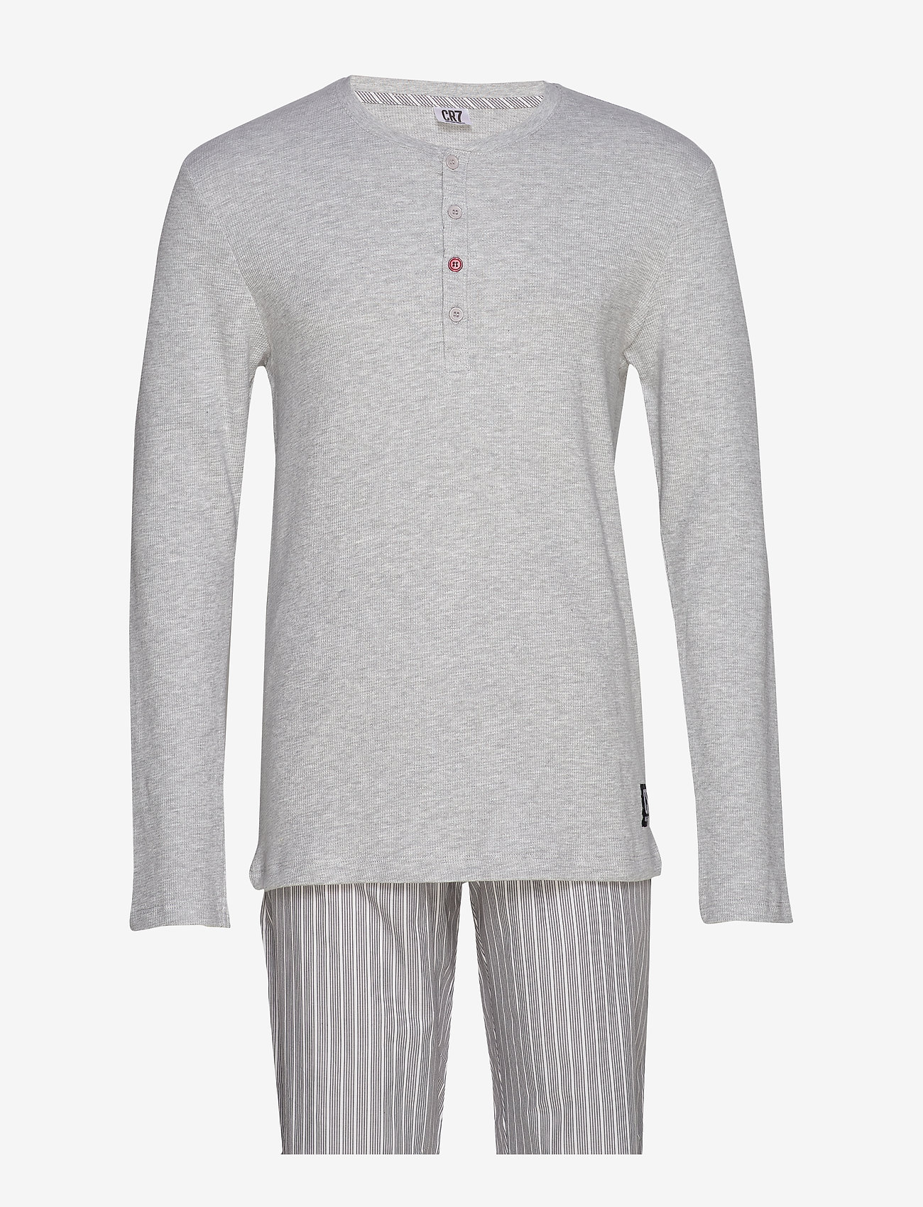 CR7 - CR7 Mens pyjamas - pyjamas - grey - 0