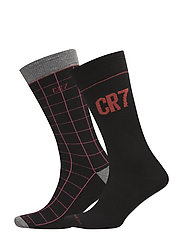 CR7 Fashion socks 2-pack - BLACK