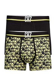 CR7 Fashion, Trunk 2-pack - AOP/BLACK