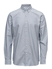 CR7 shirt Classic fit Oxford - GREY