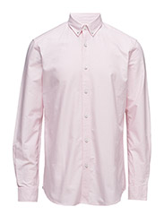 CR7 shirt Classic fit Oxford - PINK