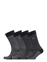 CR7 4-pack socks giftbox - STRIPES