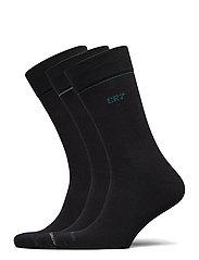 CR7 Mens socks 3-pack - SVART