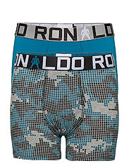 CR7 Boy's Trunk 2-pack - OCEAN/AOP