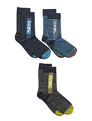 CR7 Kids socks 3-pack - CR7STRIPE