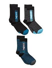 CR7 Kids socks 3-pack - CR7 STRIPE