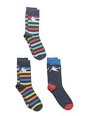 CR7 Kids socks 3-pack - STRIPES