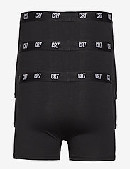 CR7 - CR7 Main Basic, Trunk,  3-pack - sous-vêtements - black - 2