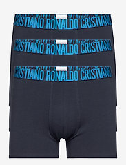 CR7 - CR7 Basic Trunk Organic 3-pack - boxers - multicolou - 0