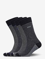 CR7 - CR7 4-pack socks giftbox - chaussettes régulières - stripes na - 0