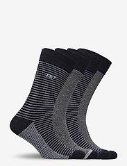CR7 - CR7 4-pack socks giftbox - chaussettes régulières - stripes na - 1