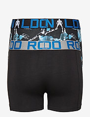 CR7 - CR7 Boy's Trunk 2-pack - shorts et pantalons - black/aop - 4