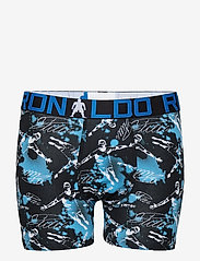 CR7 - CR7 Boy's Trunk 2-pack - shorts et pantalons - black/aop - 2