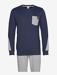 CR7 - CR7 Mens pyjamas - pyjamas - blue - 0
