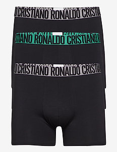 CR7 Basic, Trunk, 3-pack - bokserit - black