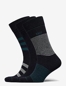 CR7 Mens socks 3-pack - tavalliset sukat - flerfärgad