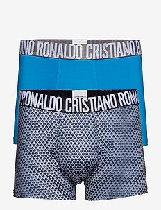 CR7 Fashion trunk,2-pack micro - bielizna - blue/aop