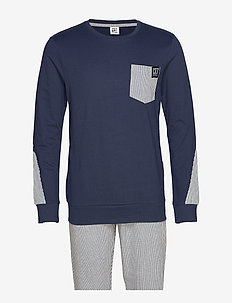 CR7 Mens pyjamas - pyjamas - blue