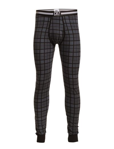 CR7 Main Fashion, Long Johns - BLACK