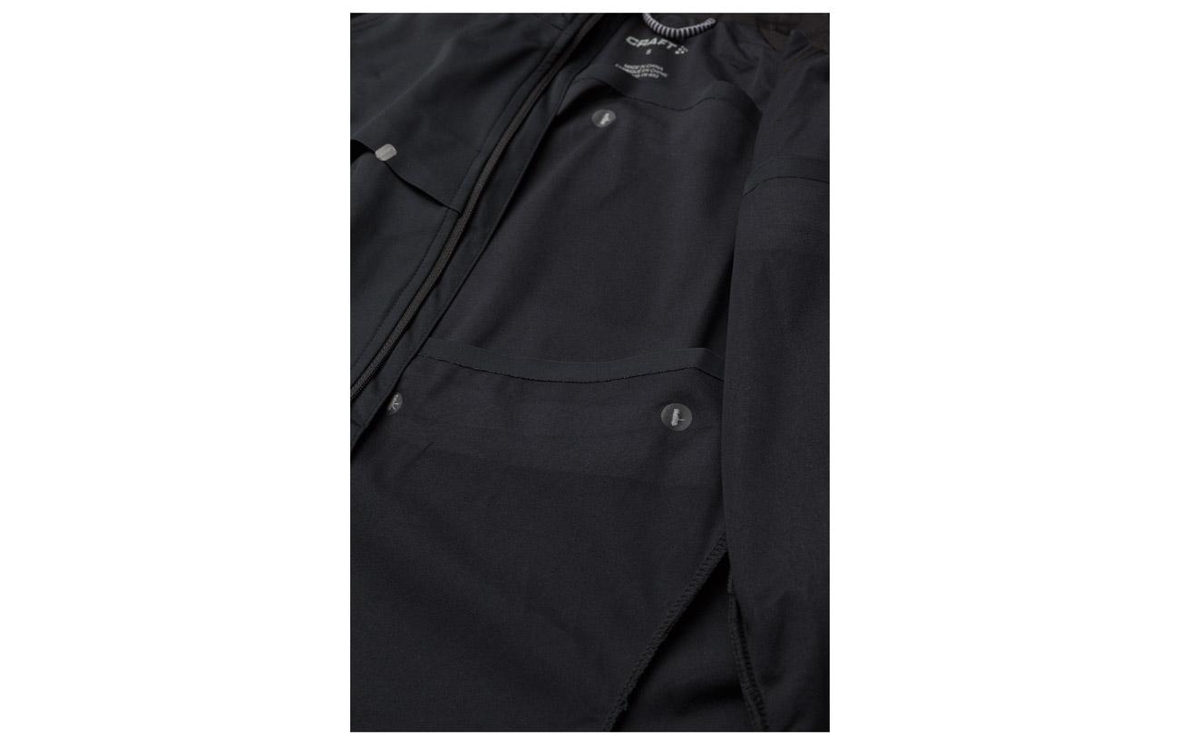 Elastane Jkt Derrière Craft Polyurethane Repel Black Polyester Mid Reflective 100 Polyester silver Devant 95 5 Équipement Détails wqAqCazF5