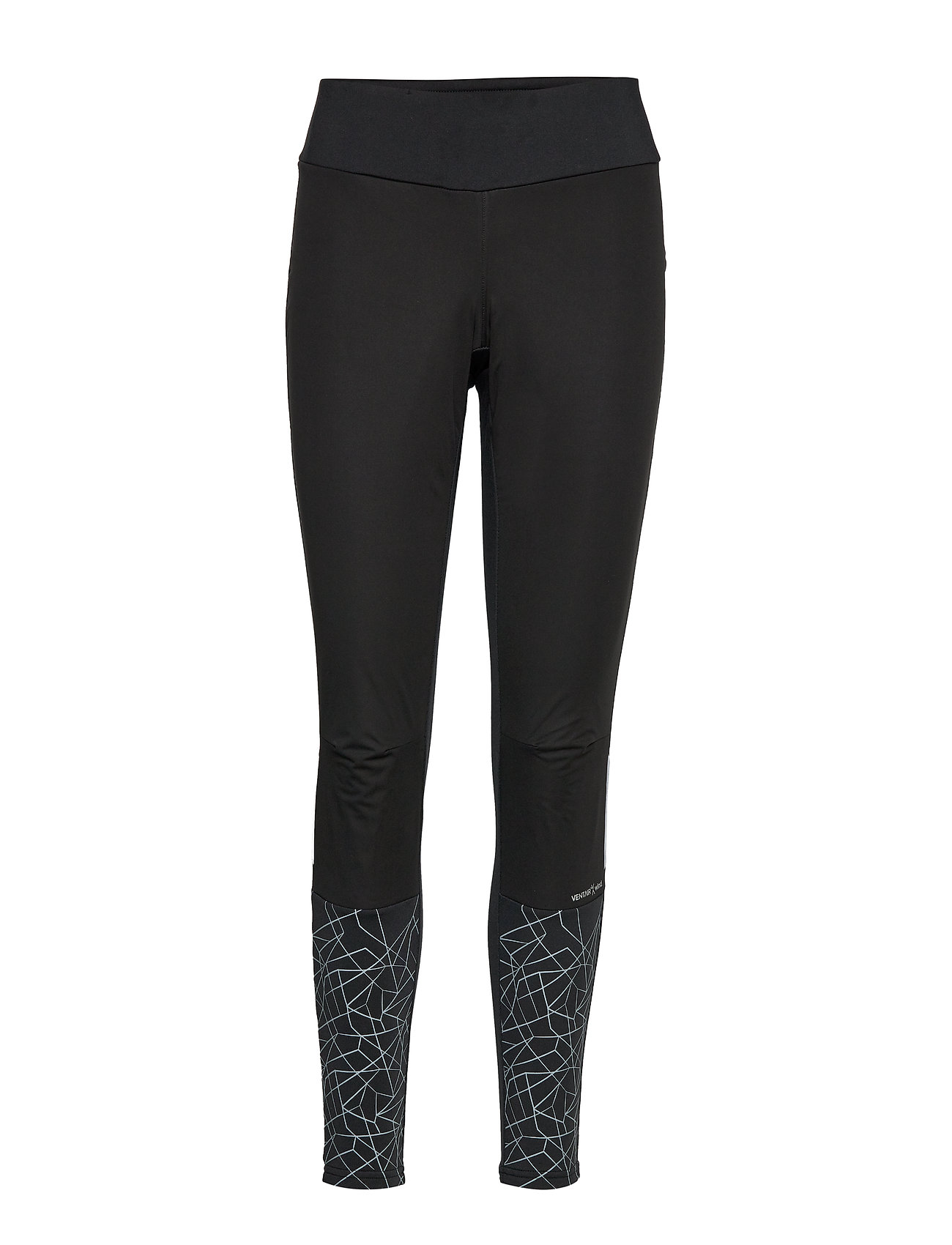 Craft WARM TRAIN WIND TIGHTS W - BLACK/ASPHALT