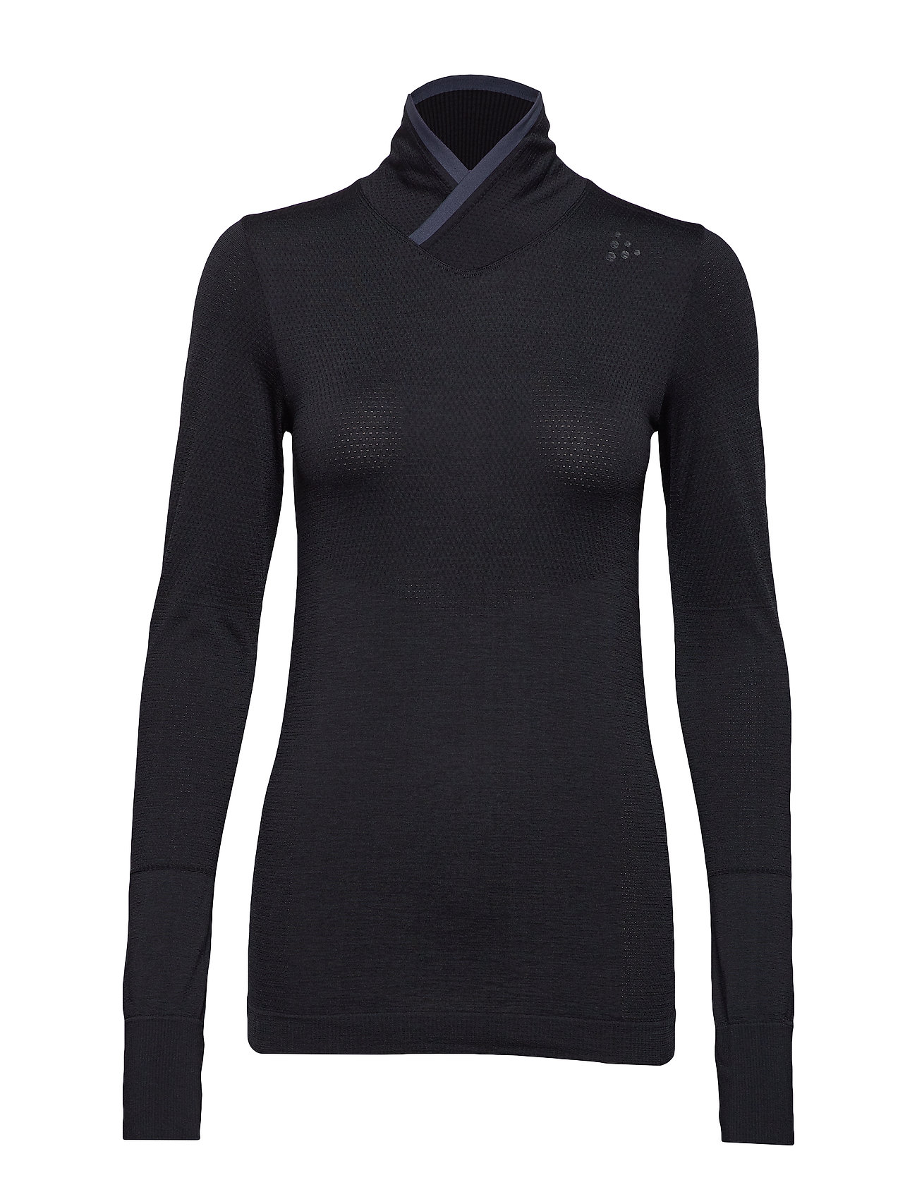 Craft FUSEKNITCOMFORT WRAP LS  - BLACK
