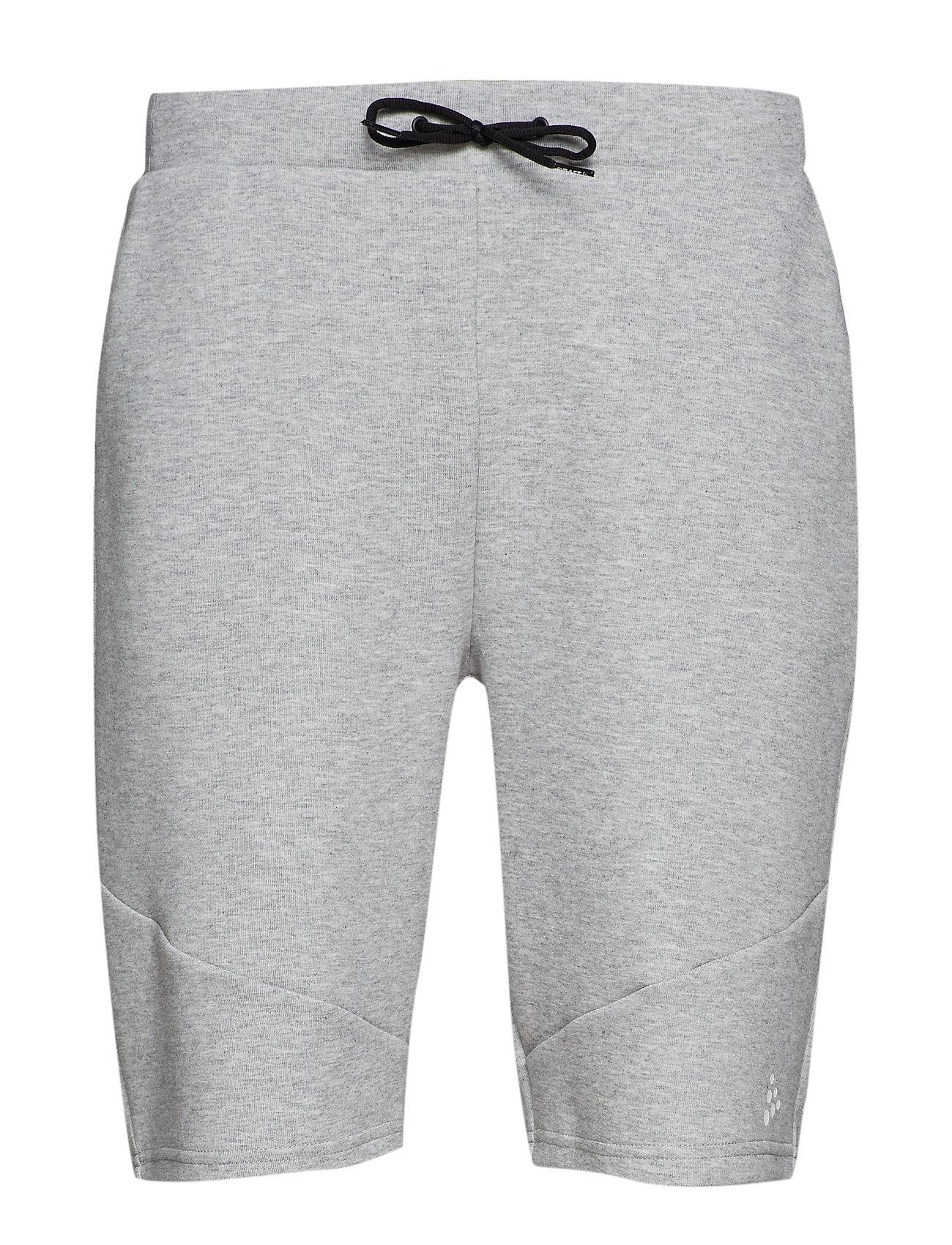 Craft District sweat shorts M - GREY MELANGE