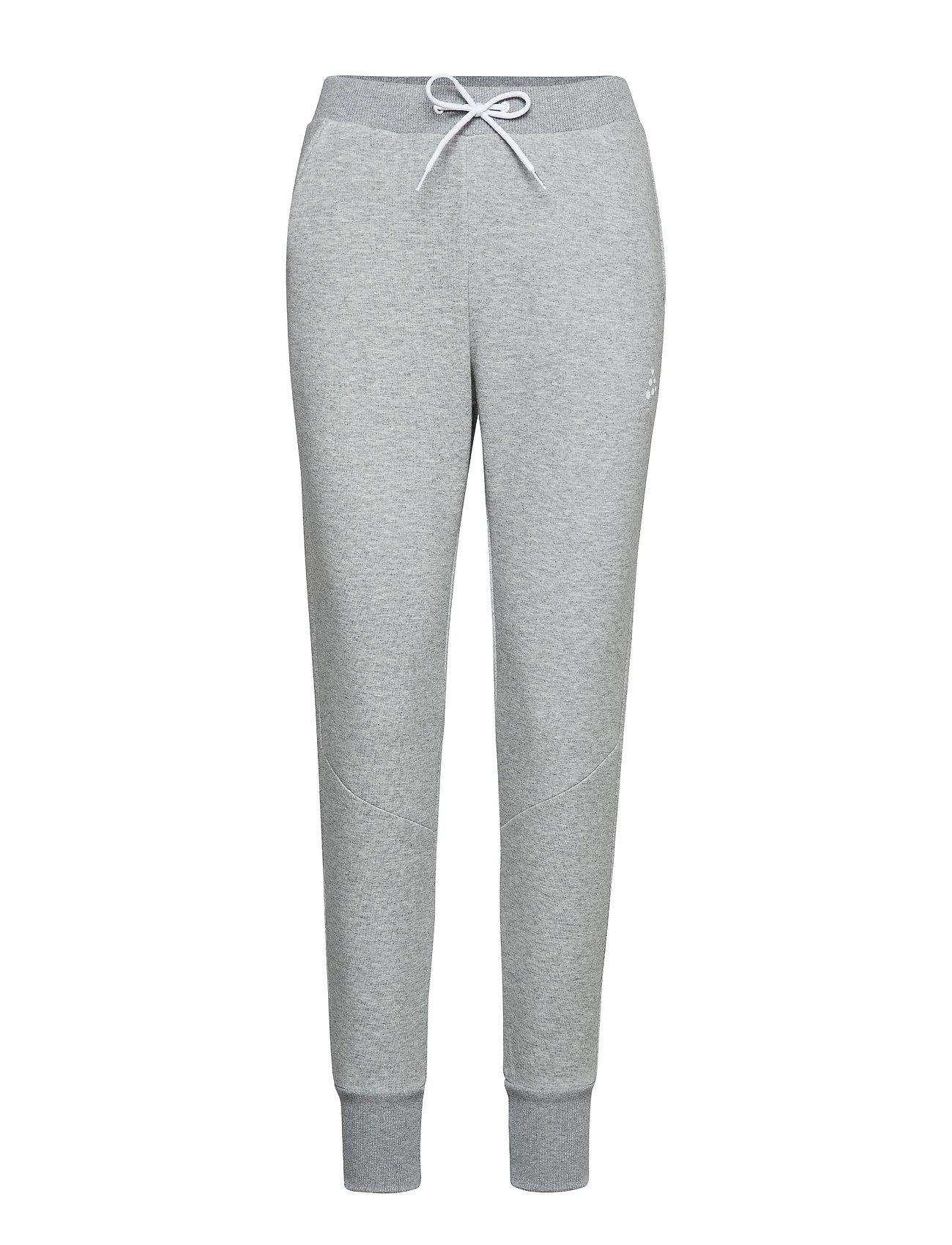 a196469c District Crotch Sweat Pants W (Grey Melange) (£30) - Craft -   Boozt.com