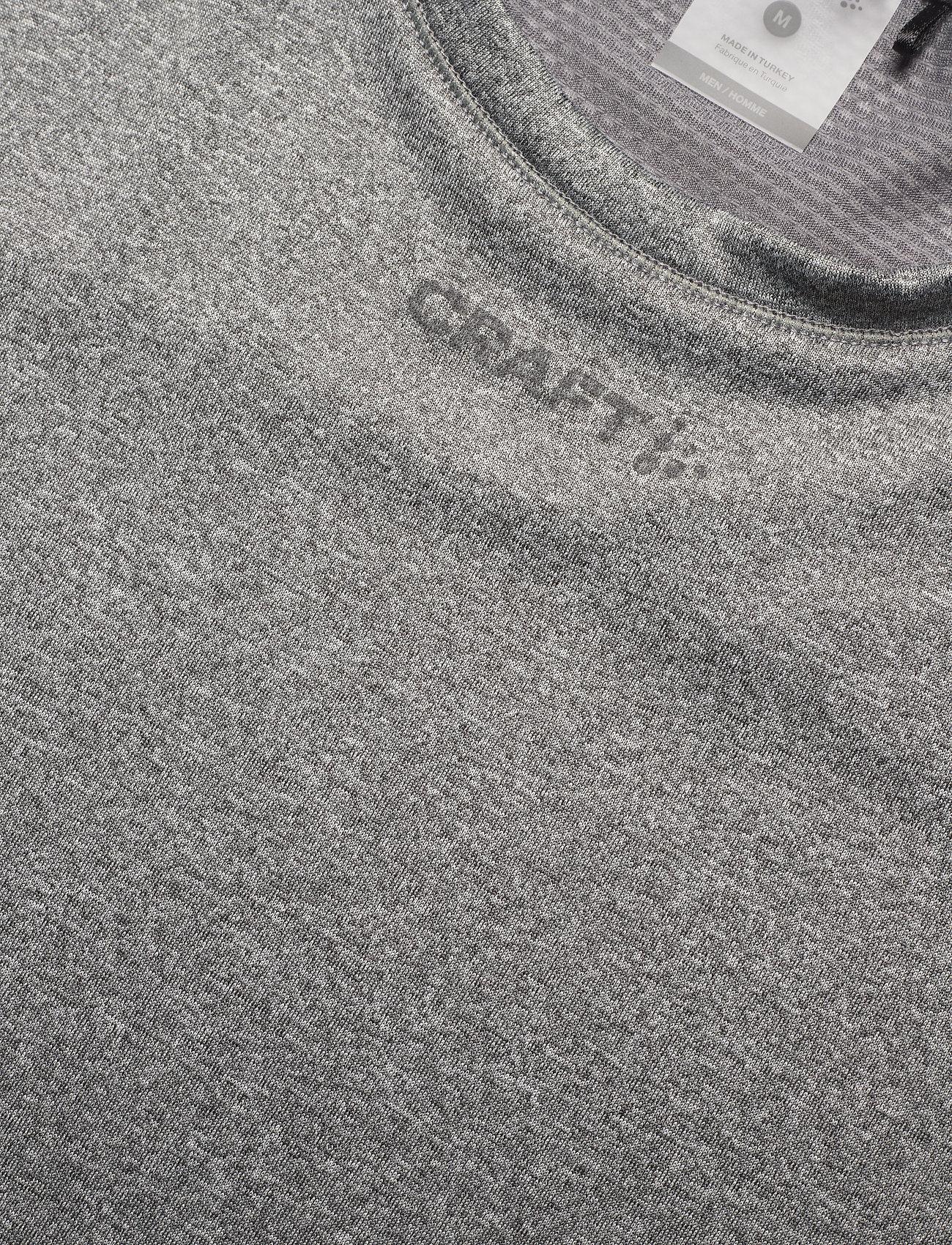 Craft ADV ESSENCE SS TEE M - T-skjorter DK GREY MELANGE - Menn Klær