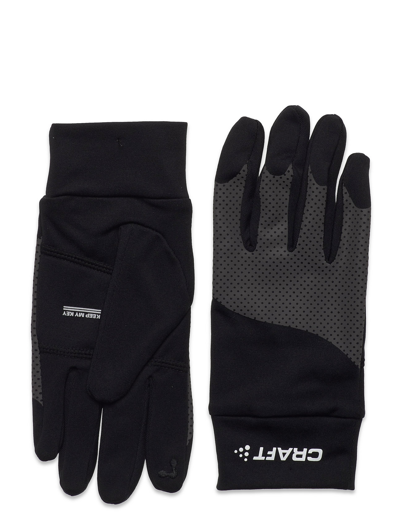 Adv Lumen Fleece Glove Handsker Sort Craft