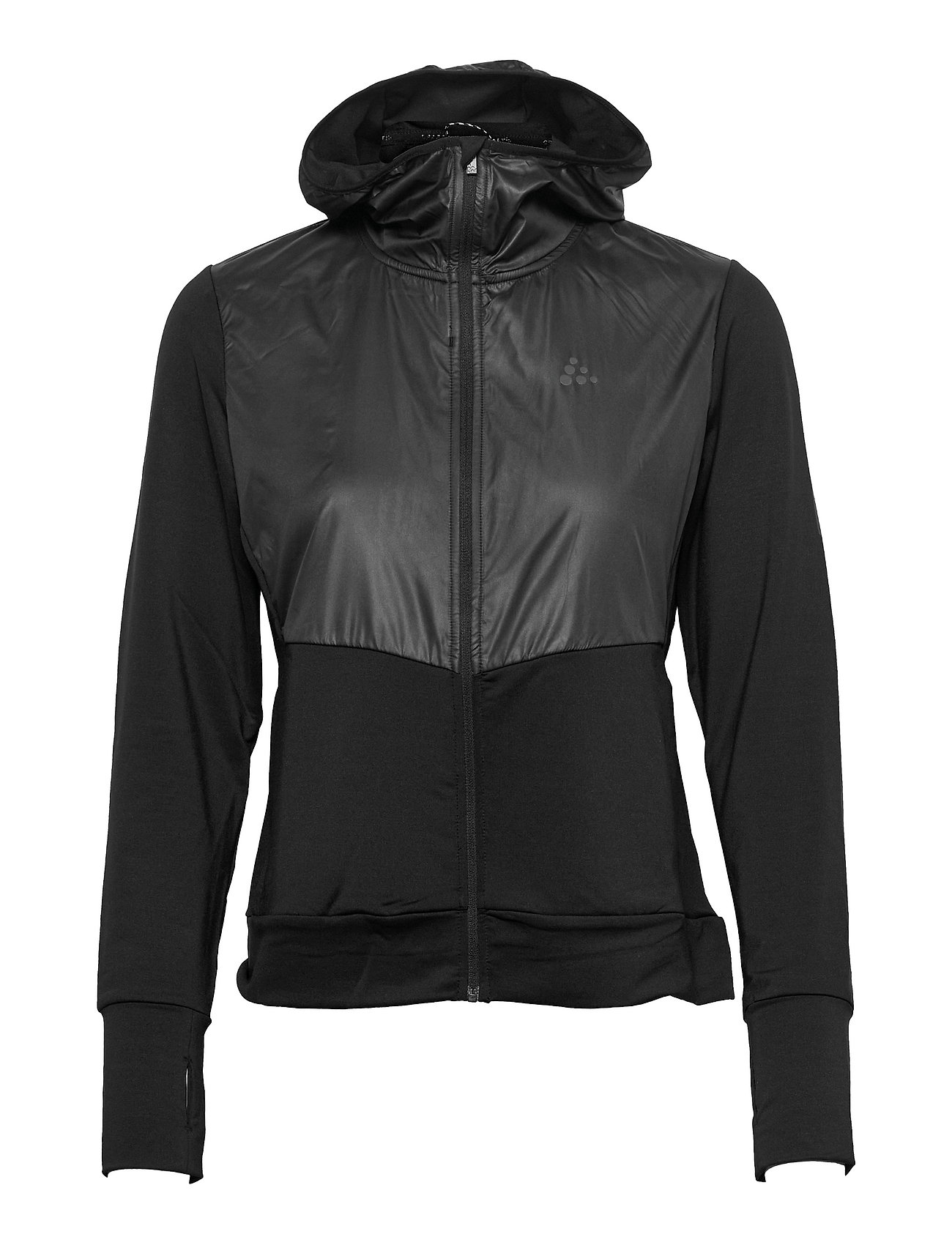 Adv Charge Jersey Hood Jacket W Outerwear Sport Jackets Sort Craft