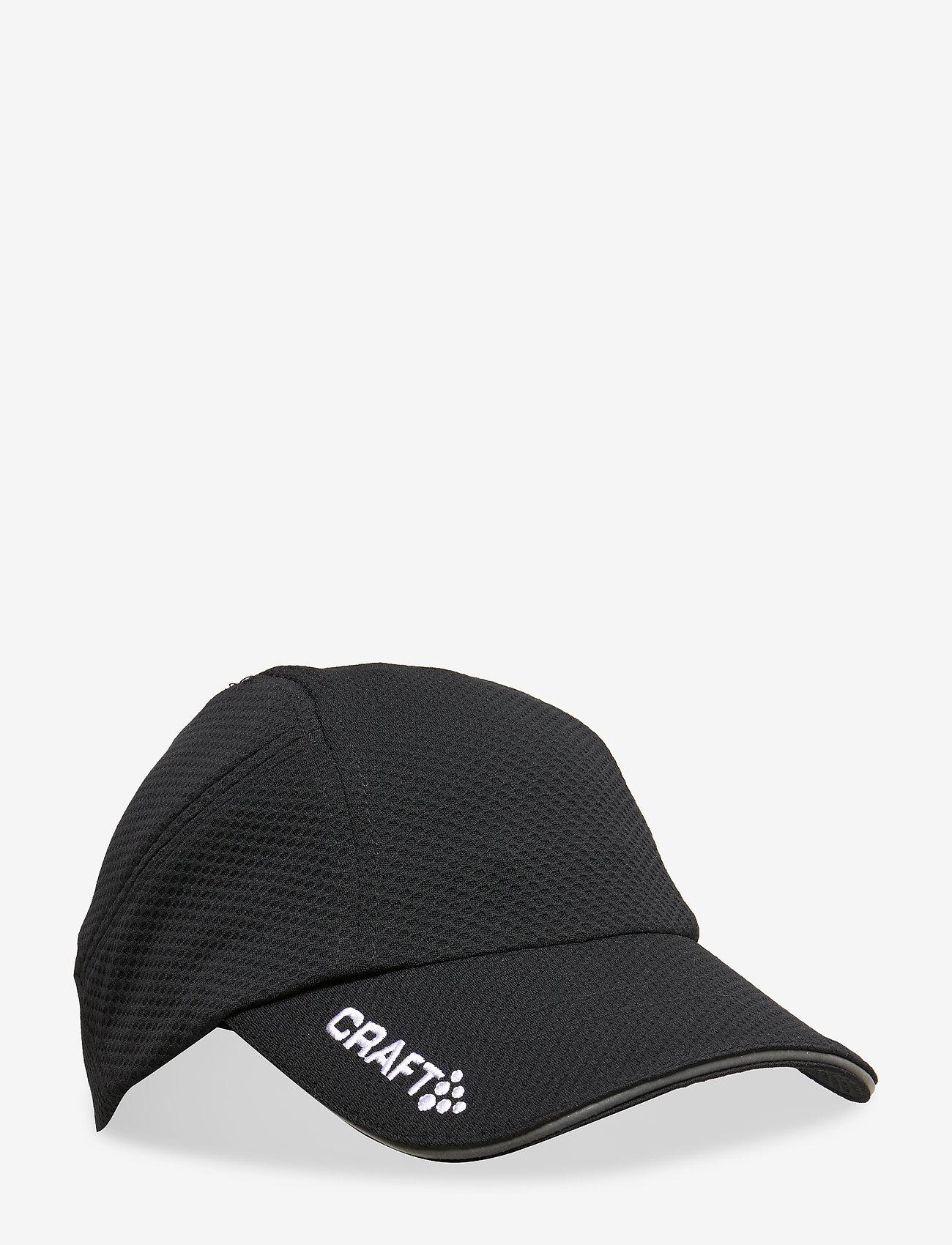 Craft - RUN CAP WHITE ONE SIZE FLUMINO  - accessories - black - 0
