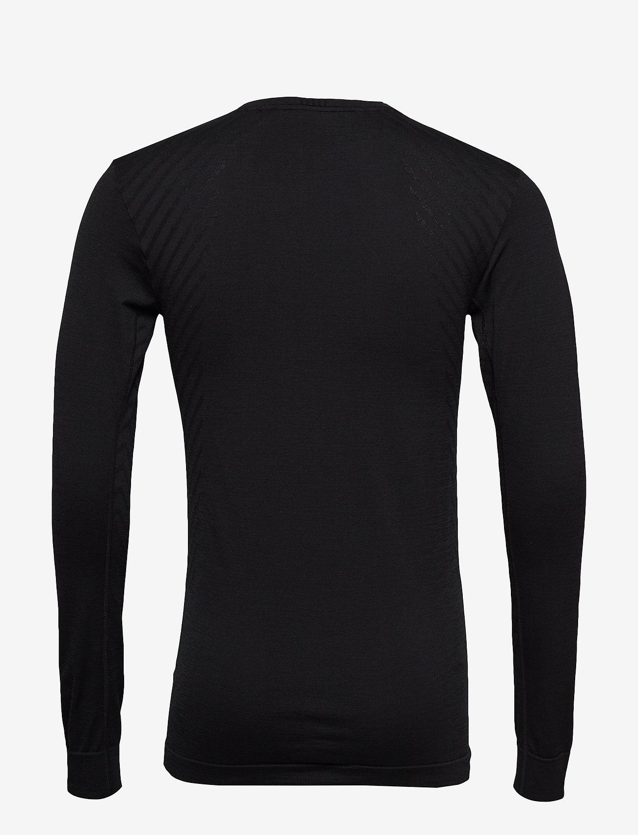 Craft - FUSEKNIT COMFORT RN LS  - langarmshirts - black - 1