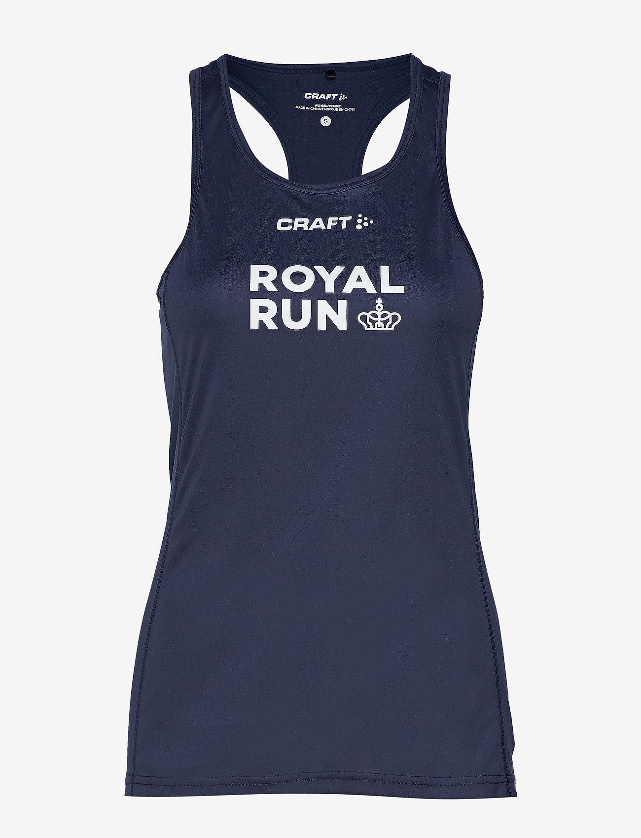 Craft - Royal Run Singlet W - tank tops - navy - 0