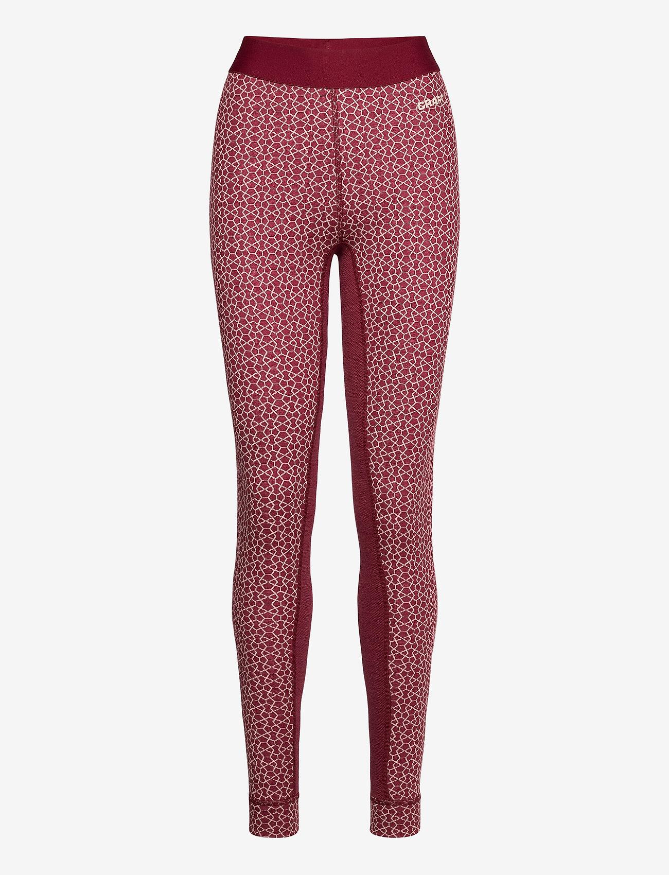 Craft - MERINO 240 PANTS W - nederdelar - rhubarg/touch - 0