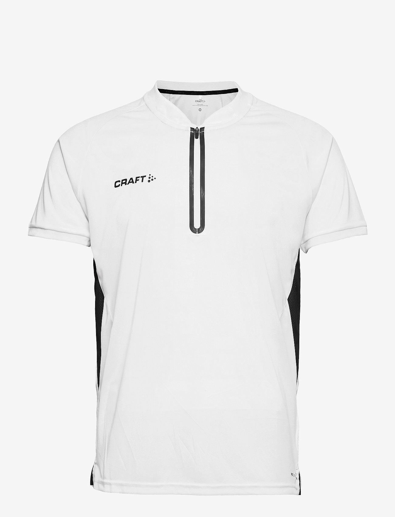 Craft - Pro Control Impact Polo M - t-shirts - white/black - 0