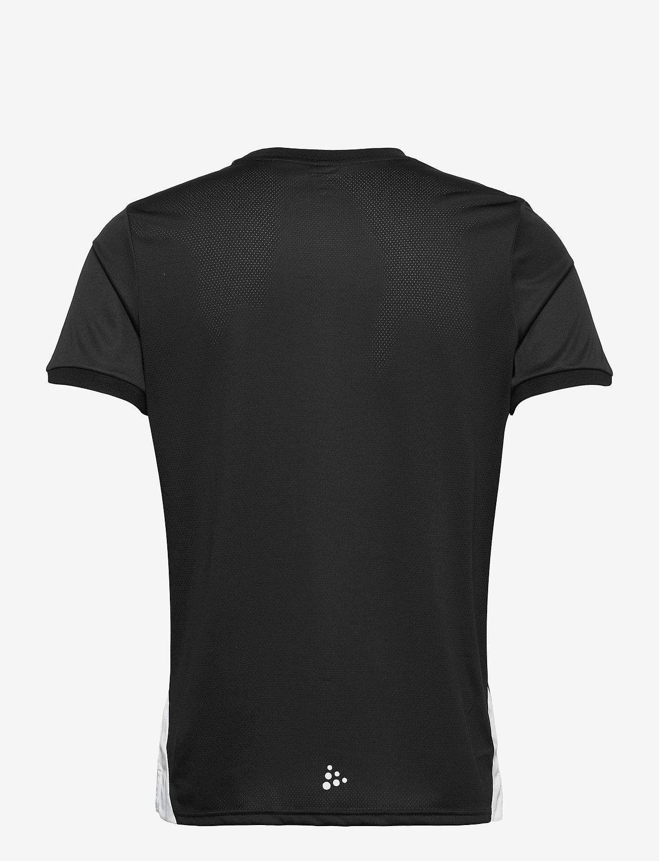 Craft - Pro Control Impact SS Tee M - t-shirts - black/white - 1