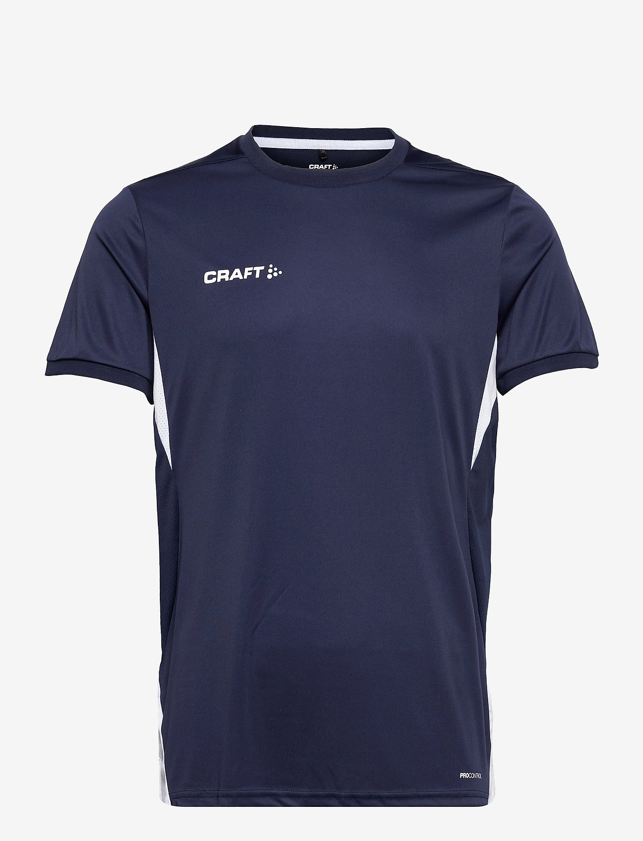Craft - Pro Control Impact SS Tee M - t-shirts - navy/white - 0