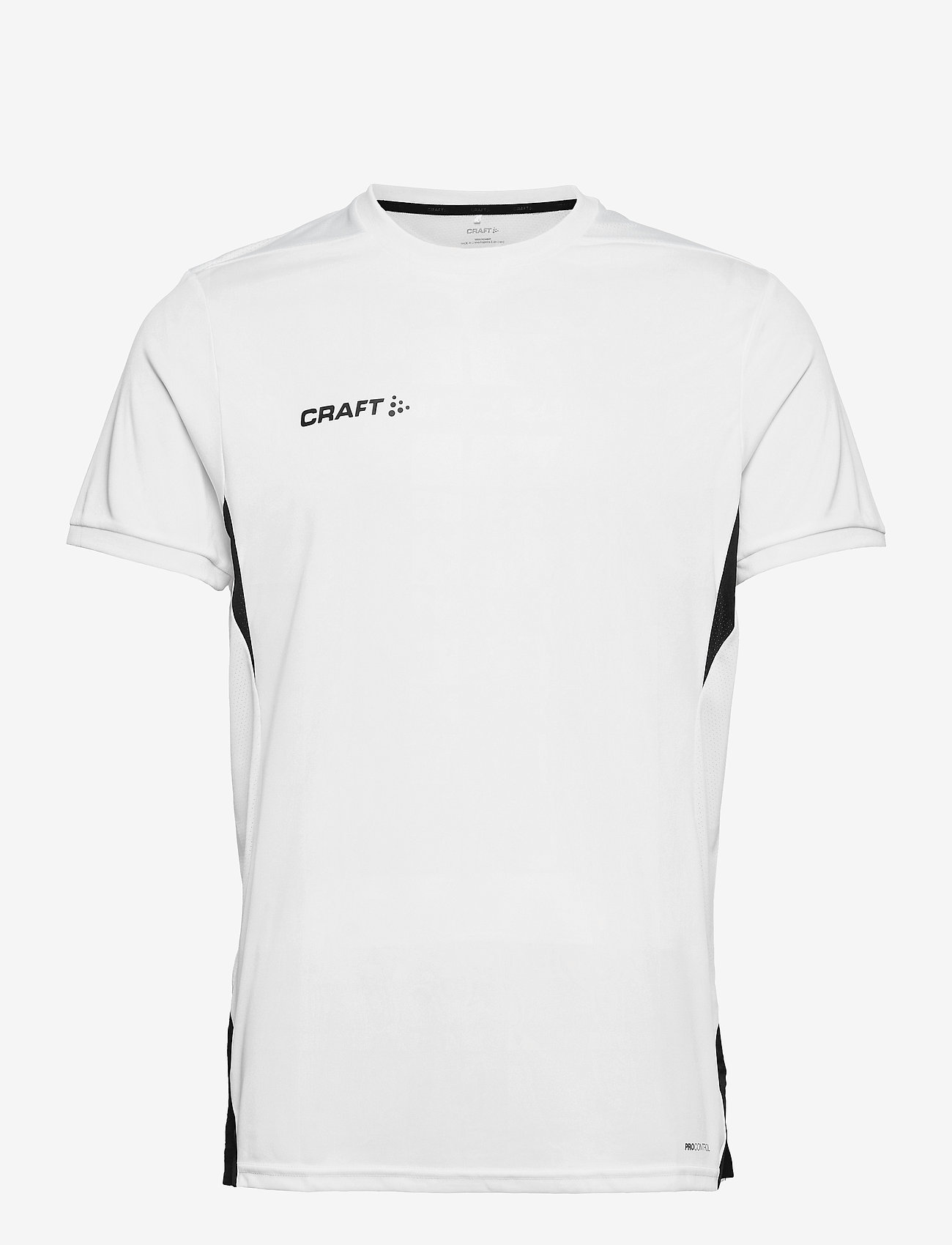 Craft - Pro Control Impact SS Tee M - t-shirts - white/black - 0