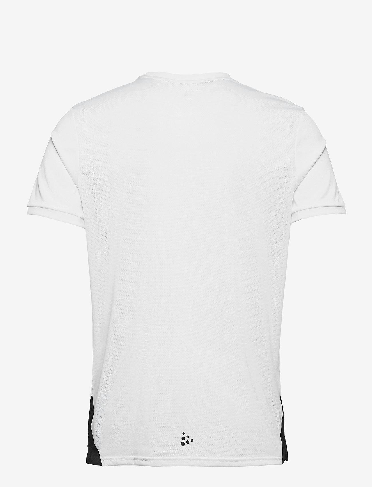 Craft - Pro Control Impact SS Tee M - t-shirts - white/black - 1