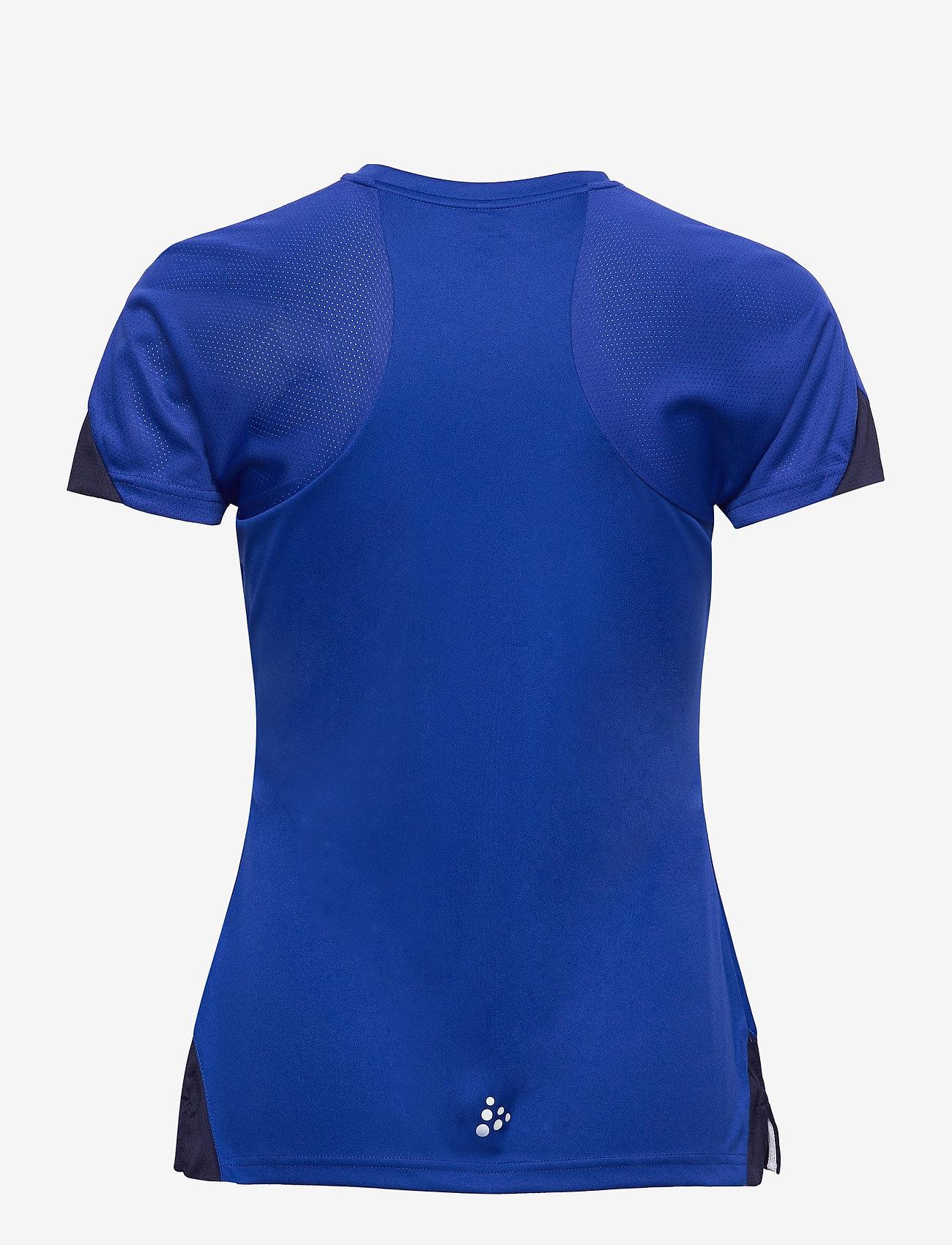 Craft - Pro Control Impact SS Tee W - t-shirts - cobolt/navy - 1