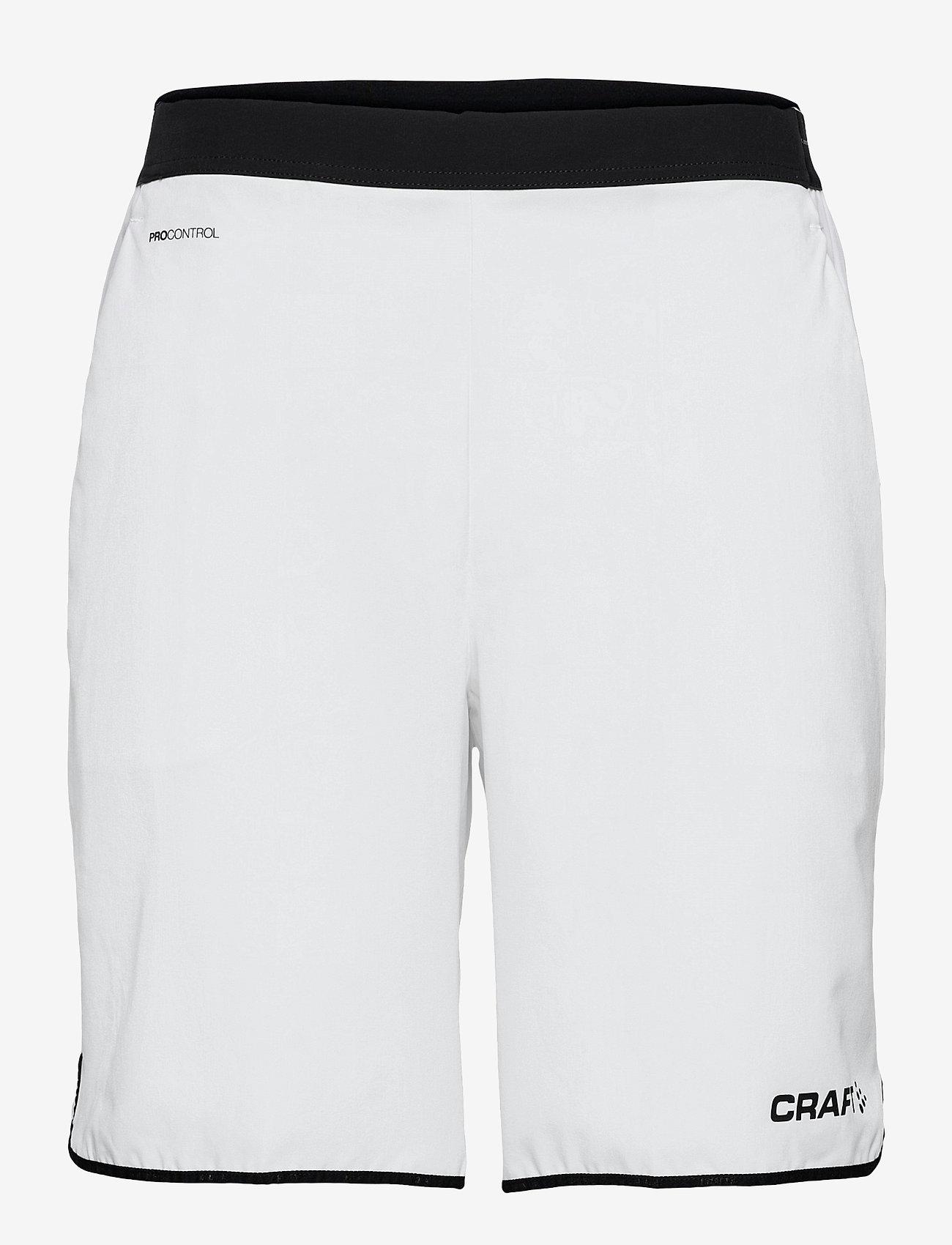 Craft - Pro Control Impact Shorts M - training korte broek - white/black - 0