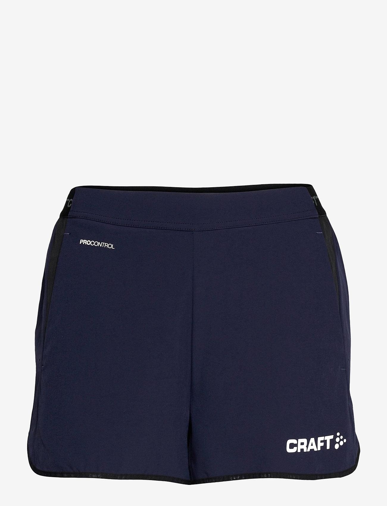 Craft - Pro Control Impact Shorts W - training korte broek - navy/white - 0