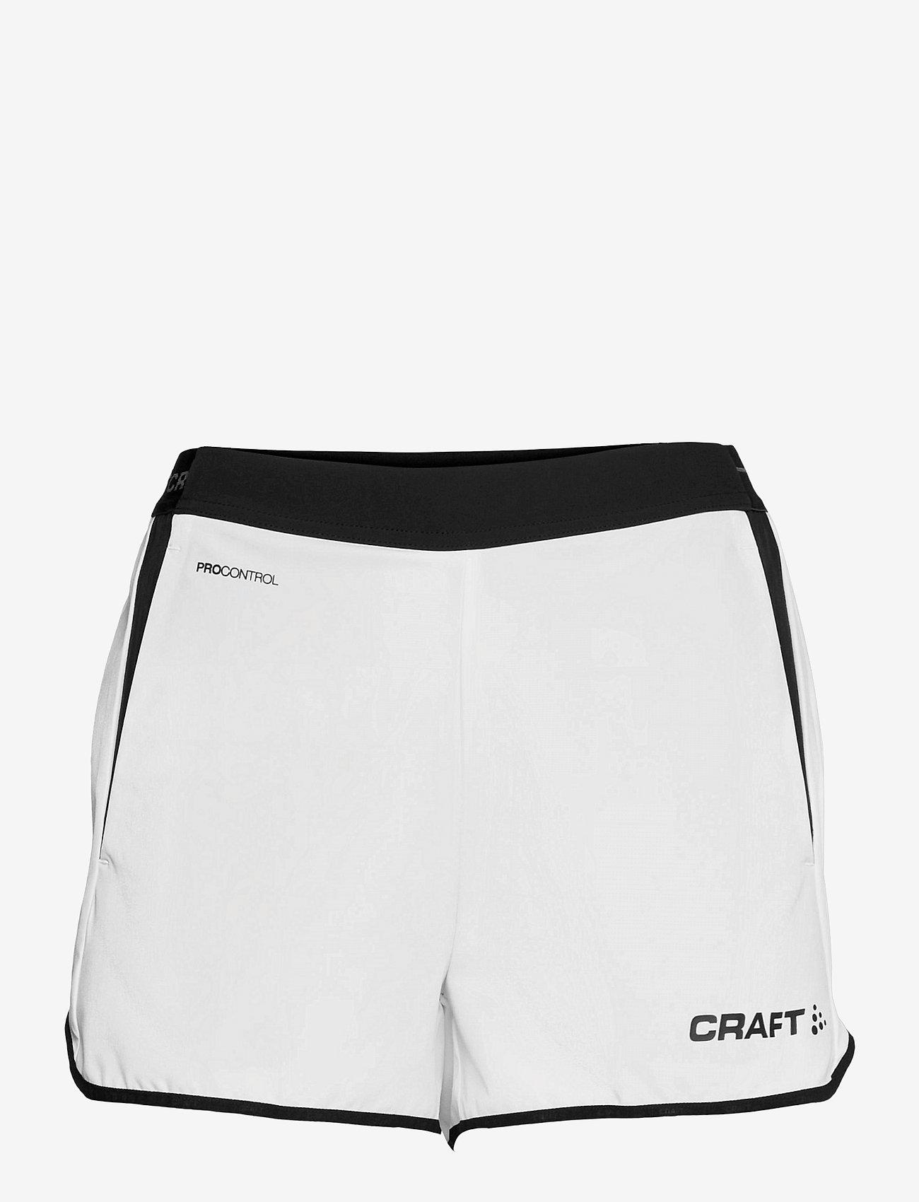 Craft - Pro Control Impact Shorts W - training korte broek - white/black - 0