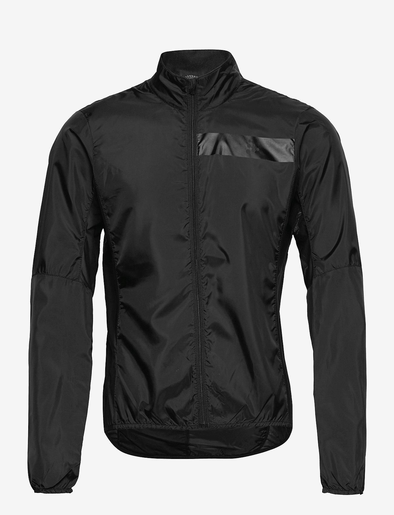 Craft - Essence Light Wind Jacket M - sportjassen - black - 0
