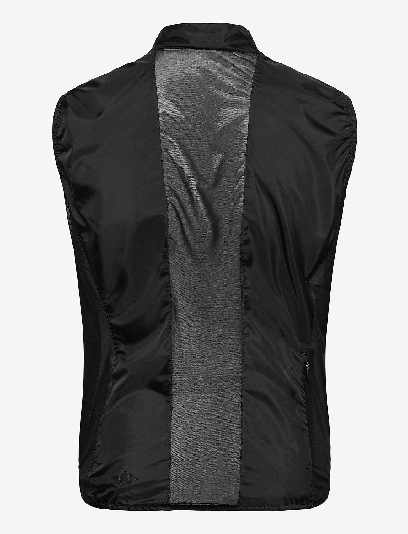 Craft - Essence Light Wind Vest M - træningsjakker - black - 1
