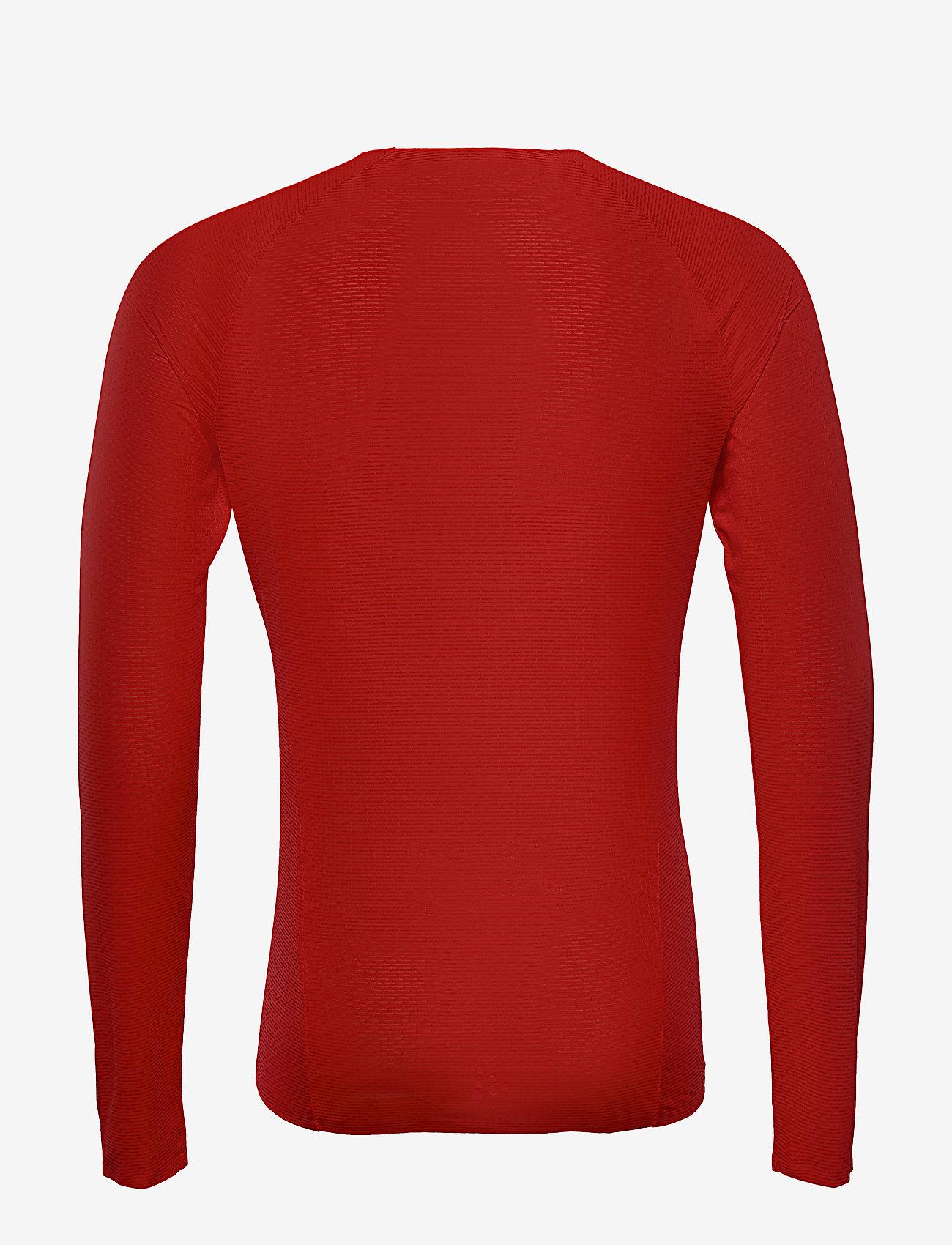 Craft - PRO DRY NANOWEIGHT LS M - longsleeved tops - bright red