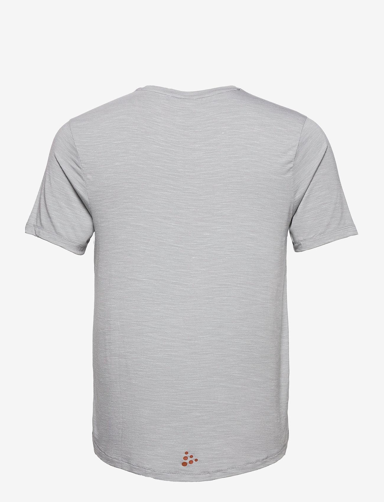 Craft CORE SENCE SS TEE M - T-skjorter GREY MELANGE - Menn Klær